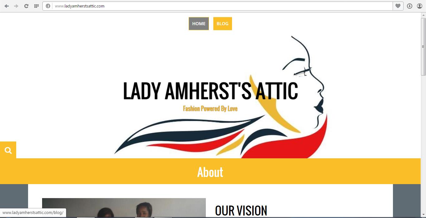 LAA website screenshot
