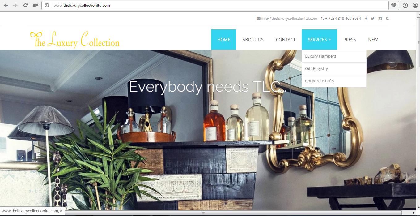 TLC website screenshot